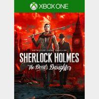 Sherlock Holmes: The Devil's Daughter [Microsoft Xbox One] [Full Game Key] [Region: U.S.] [Instant Delivery]