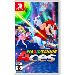 Mario Tennis Aces [ Nintendo Switch ] [ Full Game Key ] [ Region: U.S. ] [ Instant Delivery ]