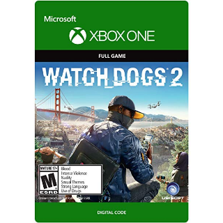 Watch Dogs 2 [ Microsoft Xbox One ] [ Full Game Key ] [ Region: U.S. ] [ Instant Delivery ]
