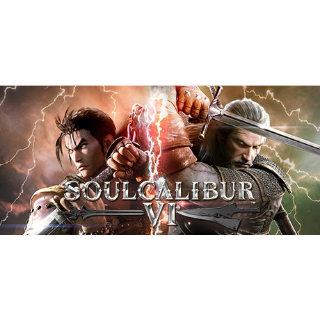 SOULCALIBUR VI / SOUL CALIBUR 6 [ PC / Steam ] [ Full Game Key ] [ Region: Global ] [ Instant Delivery ]