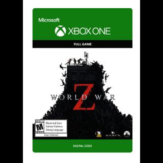 World War Z [ Microsoft Xbox One ] [ Full Game Key ] [ Region: U.S. ] [ Instant Delivery ]