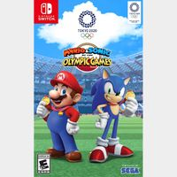 Mario & Sonic at the Olympic Games Tokyo 2020 [ Nintendo Switch ] [ Full Game Key ] [ Region: U.S. ] [ Instant Delivery ]