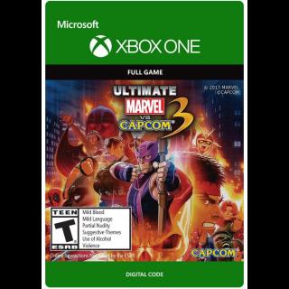 ULTIMATE MARVEL VS. CAPCOM 3 [ Microsoft Xbox One ] [ Full Game Key ] [ Region: U.S. ] [ Instant Delivery ]
