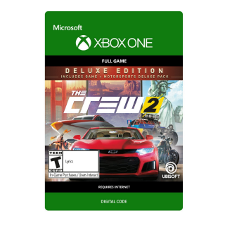 THE CREW 2 - Deluxe Edition [Microsoft Xbox One] [Full Game Key + DLC] [Region: U.S.] [Instant Delivery]