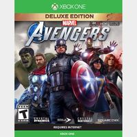 Marvel's Avengers: Deluxe Edition [Microsoft Xbox One & X|S] [Full Game Key + DLC] [Region: U.S.] [Instant Delivery]