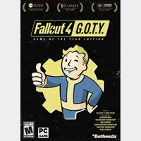Fallout 4 Game of the Year Edition GOTY [PC / Steam] [Full Game Key] [Region: Global] [Instant Delivery]