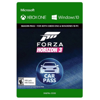 Forza Horizon 3 Car Pass [ Microsoft Xbox One / PC Windows 10 ] [ Season Pass Key ] [ Region: U.S. ] [ Instant Delivery ]