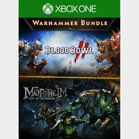 Warhammer Bundle: Mordheim and Blood Bowl 2 [Microsoft Xbox One] [Bundle Key] [Region: U.S.] [Instant Delivery]