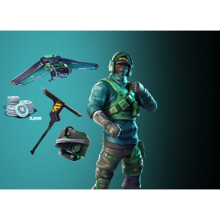 Nvidia GeForce Fortnite Counterattack set + 2000 V-Bucks Instant Delivery EPICGAMES Code