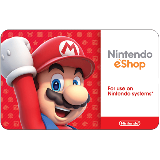 $50.00 Nintendo eShop ( 10 x 5$ )