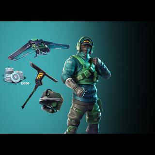 Nvidia GeForce Fortnite Counterattack set + 2000 V-Bucks Instant Delivery EPICGAMES Code