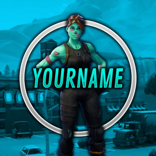I will I will make a fortnite gfx for you (with your name
