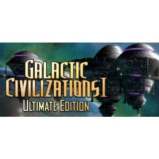 Galactic Civilizations® I: Ultimate Edition *Delivery Within 24hrs*