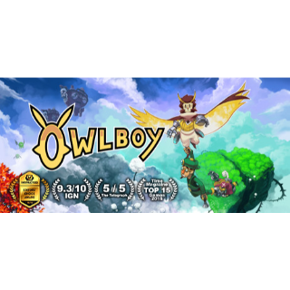 Owlboy *Delivery Within 24hrs*