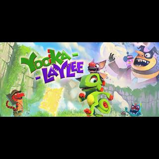 Yooka-Laylee *Instant Steam Key