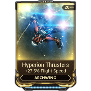 Mod | Hyperion Thrusters R10
