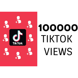 I will add on your tiktok video 100000 view