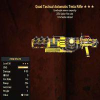 Weapon   Quad FFR FR RL Tesla