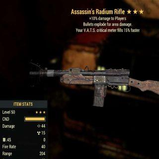 Weapon | AE 15 Vats Radium