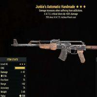 Weapon   Junkies 50/25 Handmade
