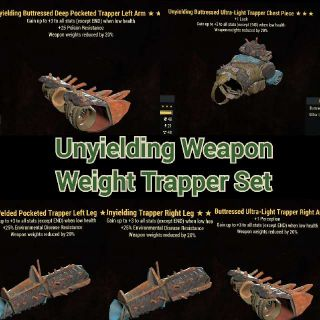 Apparel   Unyielding WWR Set