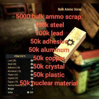 Junk | 5k Bulk Ammo Scrap