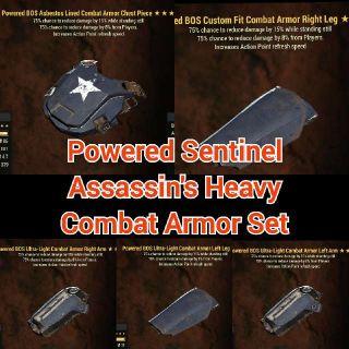 Apparel   Sentinel Assassin AP Set