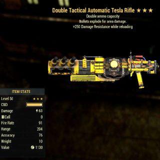Weapon | DE 250 Tesla