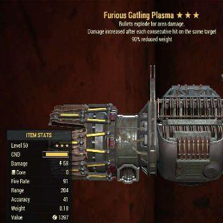 Weapon | FE 90 Gatling Plasma