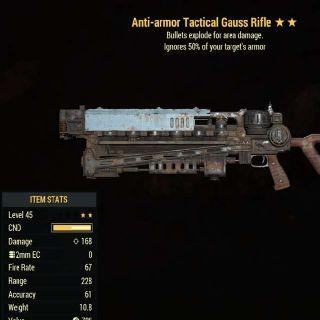 Weapon | AAE Gauss Rifle