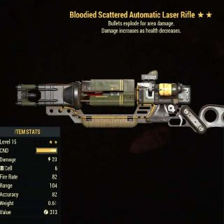 Weapon | Level 15 BE Laser