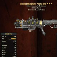 Weapon   Bloodied 25/25 Plasma