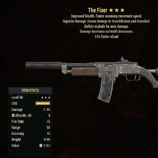 Weapon   BE FR Fixer