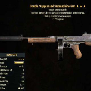 Weapon | DE +Per 45 SMG