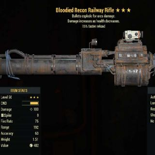 Weapon | BE FR Railway