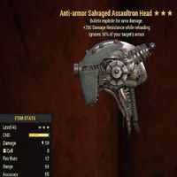 Weapon   AAE 250 Assaultron Head