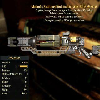 Weapon | ME 15 Vats Laser