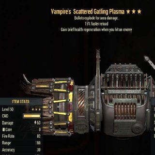 Weapon | VE FR Gatling Plasma