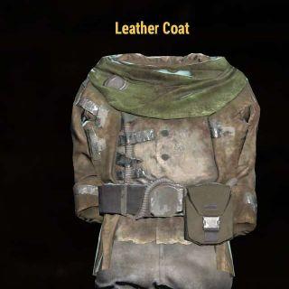 Apparel   Leather Coat