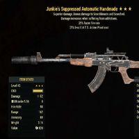 Weapon   Junkies 25/25 Handmade