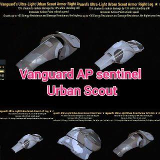 Apparel | Vanguard AP Sent Set
