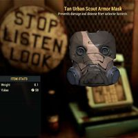 Apparel   Tan Urban Scout Mask