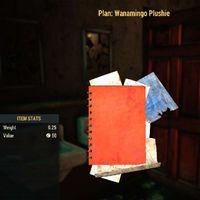 Plan   Wanamingo Plushie