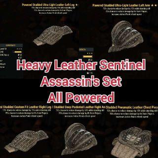 Apparel   Heavy PSA Leather Set