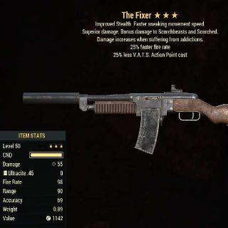 Weapon   Junkies 25/25 Fixer