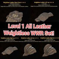 Apparel   Lvl 1 Weightless WWR Set