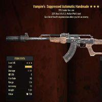 Weapon   Vampires 25/25 Handmade