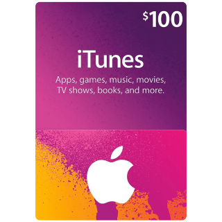 [AUTO DELIVERY] ITUNES $100.00 USA - Greet deal
