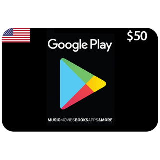 Google Play $50 USA [AUTO DELIVERY] - Greet deal