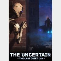 The Uncertain: Last Quiet Day (Humble Gift Link - INSTANT DELIVERY)